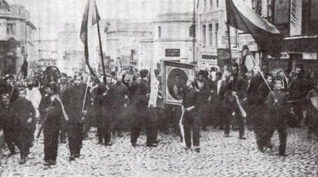 Манифестация в Москве 28.05.1915 г.
