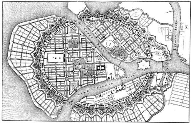 Вид Старого Замка Конде: «Ксикрик на реке Новогор»