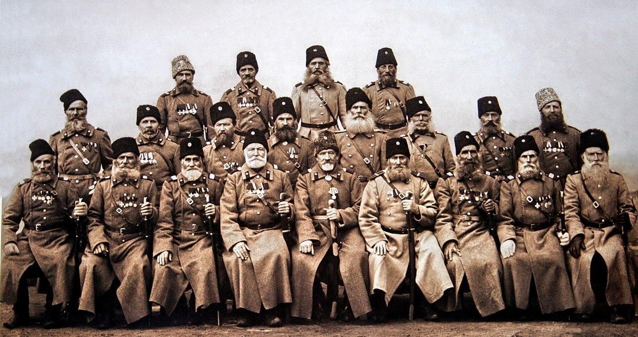 Атаманы Верхнего Дона. 1912 год.