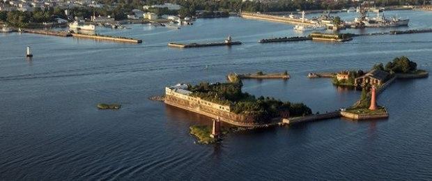 Форт Кронштадт. Петроградская крепость.