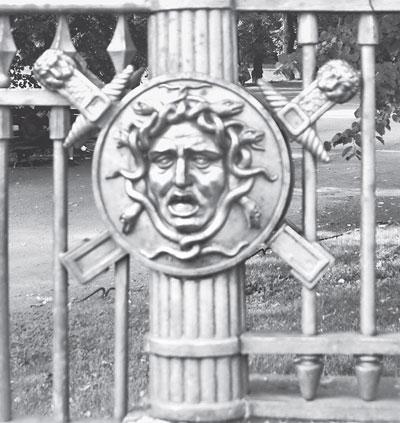 Летний Сад, решетка Шарлеманя.