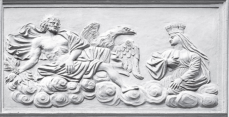 Зевс и Гера. Дворец в Летнем саду.