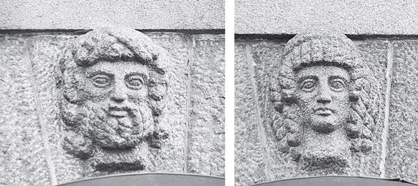 Зевс и Гера. Большая Морская ул., д. 39.