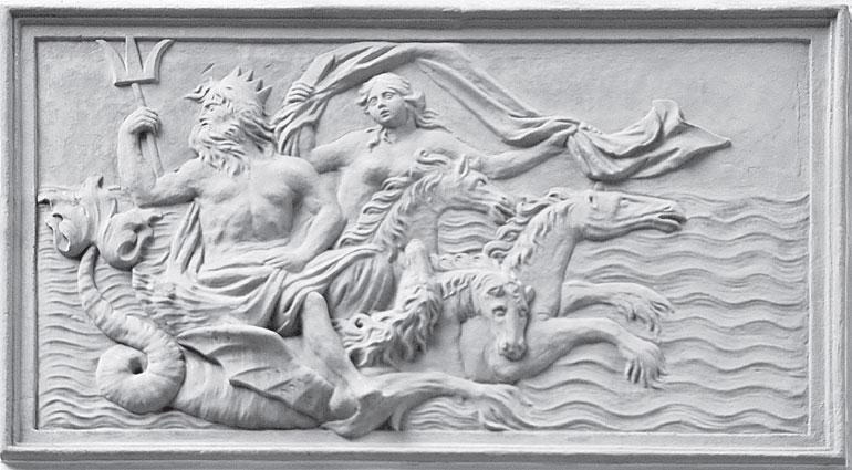 Нептун. Дворец в Летнем саду.