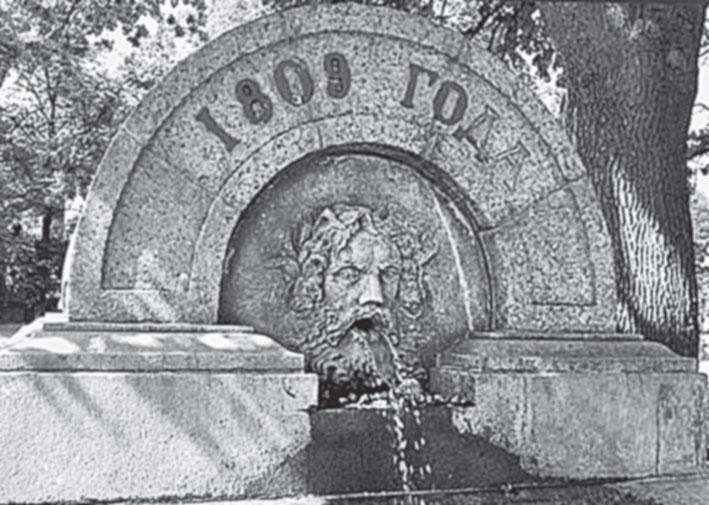 Воронихинский садик.