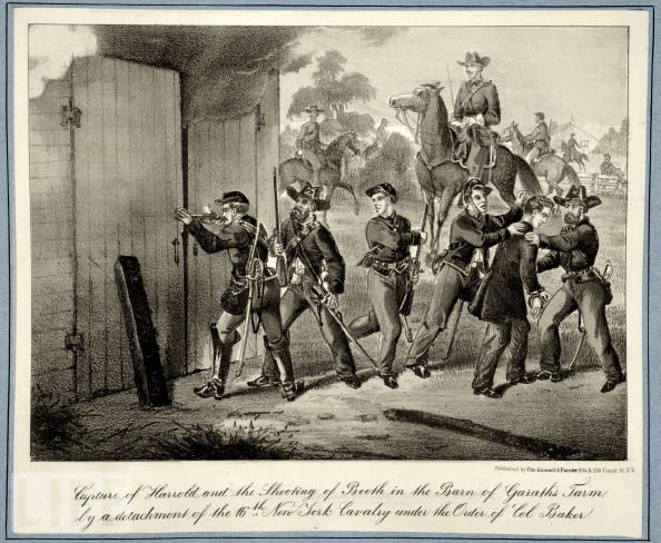 26 апреля солдаты выследили Бута и Херольда.