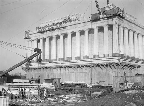 Монумент 16 президента. 1914 год.