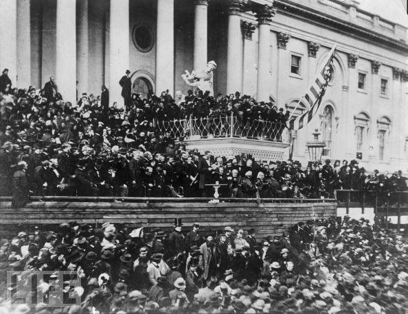 4 марта 1865 года Линкольн Проше инаугурацию на второй срок