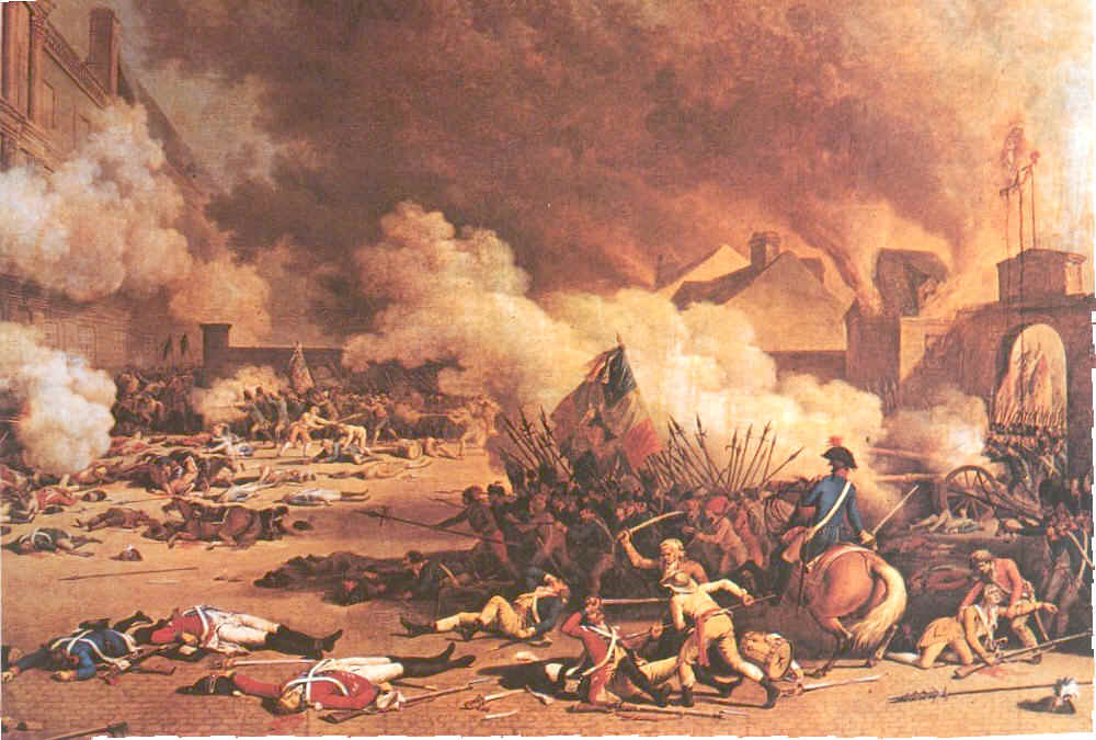 Начало Французской Революции.