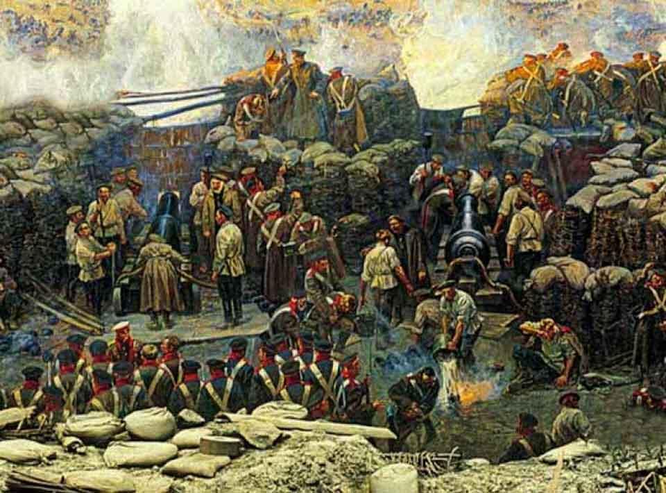 Петербургская война 1854 года.