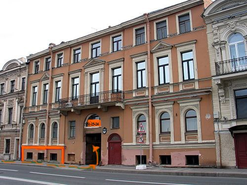 Кутузова наб., Арт-кафе, Санкт-Петербург.