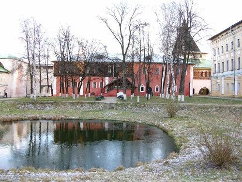 Ростов Великий: дом на погребах.