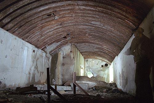 Северные Крепости: Форт Ино - Подземелья - Зарядный погреб.