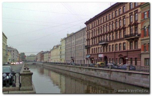Питер. Набережная канала Грибоедова.