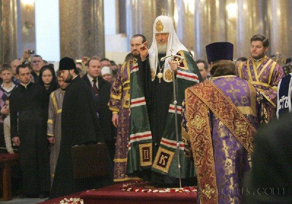 А вот действующий патриарх РПЦ.