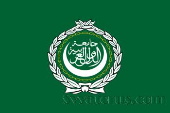 Это флаг Лиги арабский государств.