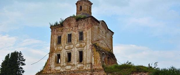 Руины цивилизации былой.