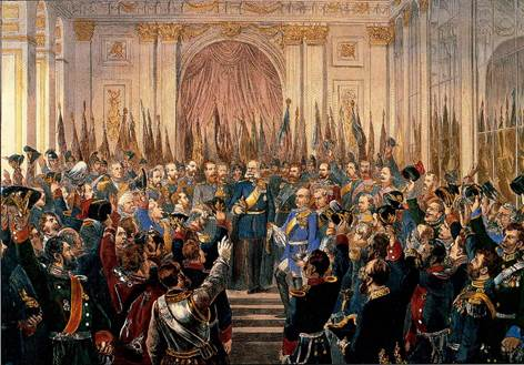 Версаль. 1871 год.