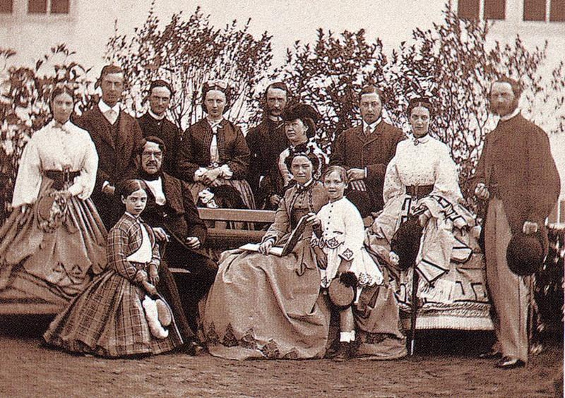 Копенгаген, 1864 год. Никса Гольштейн с невестой