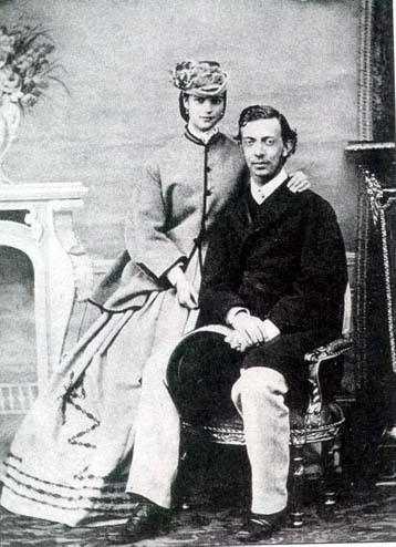 Никса Гольштейн с невестой Дагмарой