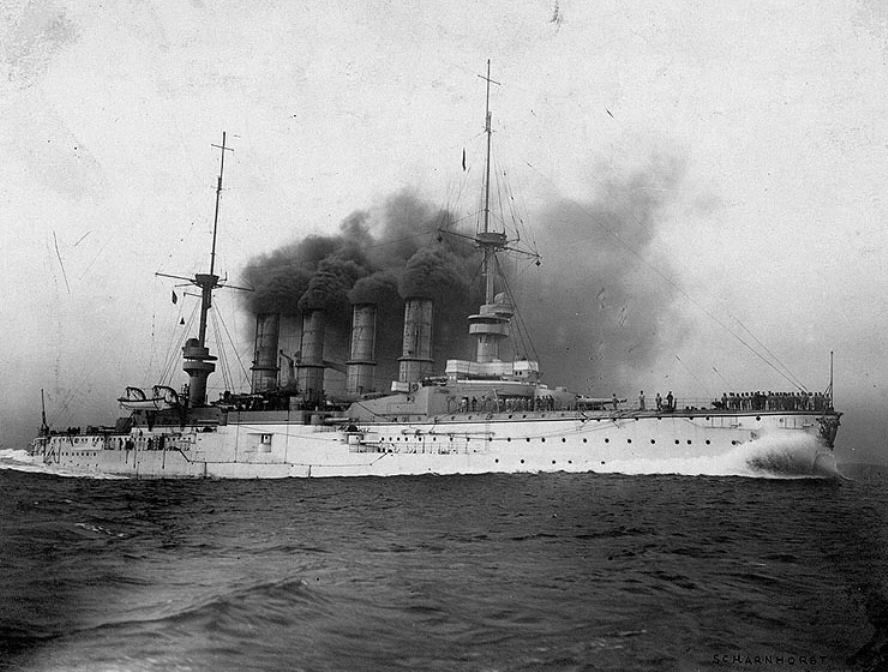 Броненосный крейсер «Шарнхорст»