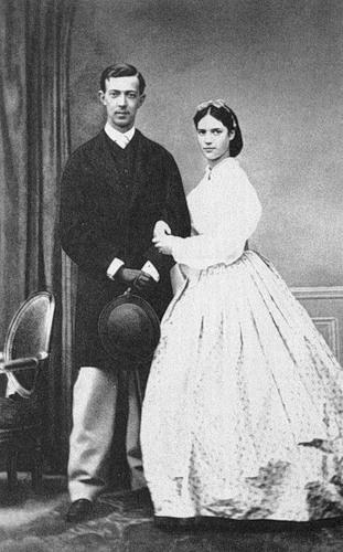 Дагмара со своим женихом Никсой Гольштейн