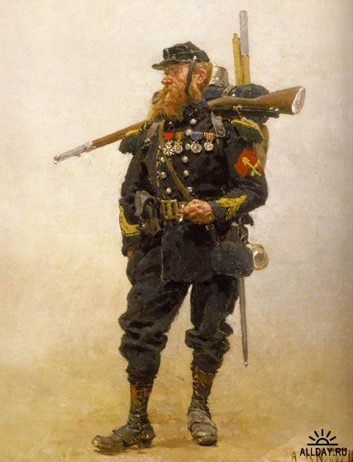 Солдаты Франко-прусской войны 1870—1871