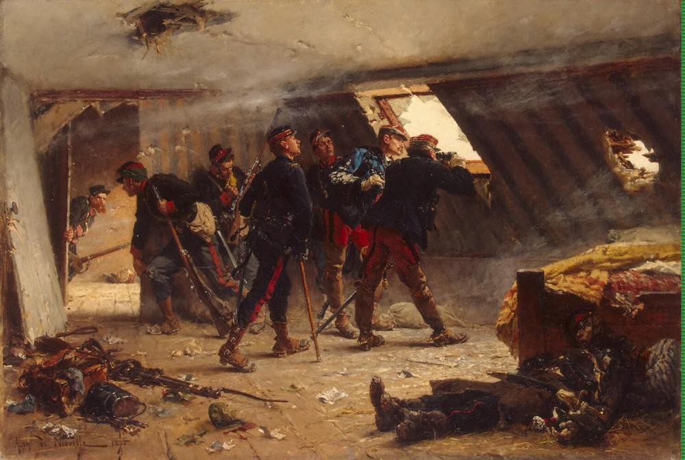 Эпизод франко-прусской войны 1870-1871 гг.