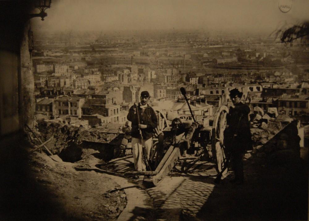 Париж. 1870-1871 гг. Оборона Парижа (Лютеции).