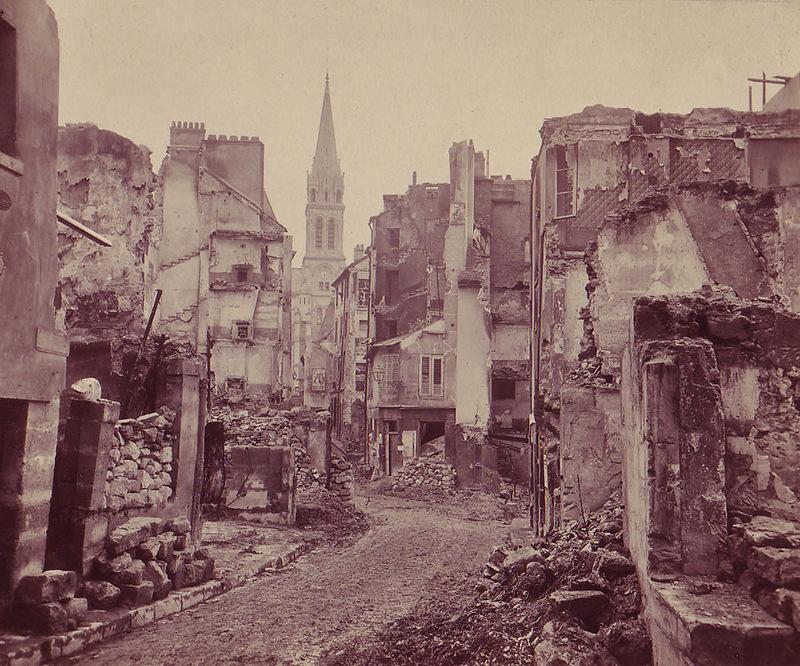 Париж, 1870 г.