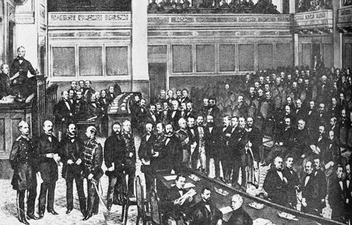 Учредительное заседание Северогерманского рейхстага