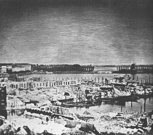 Гамбург, 1842 год.