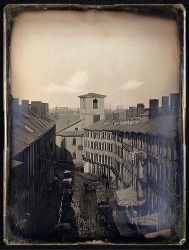 Бостон, 1855 год.