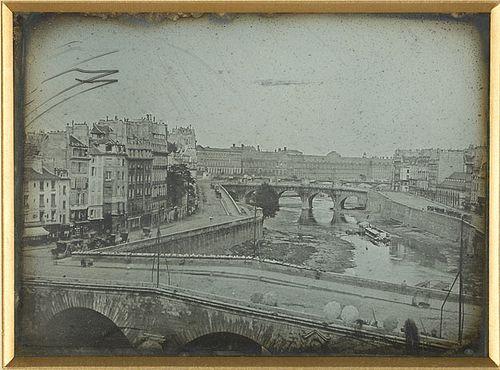 Набережная реки Сены. 1839 год.