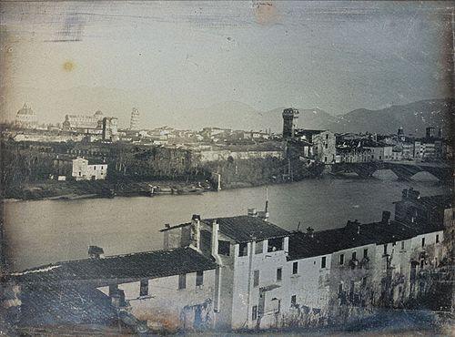 Пиза, Италия, 1845 год.