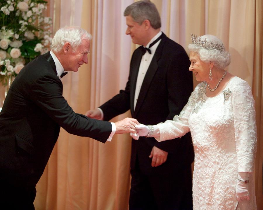 Действующий генерал-губернатор Канады Дэвид Ллойд Джонстон.