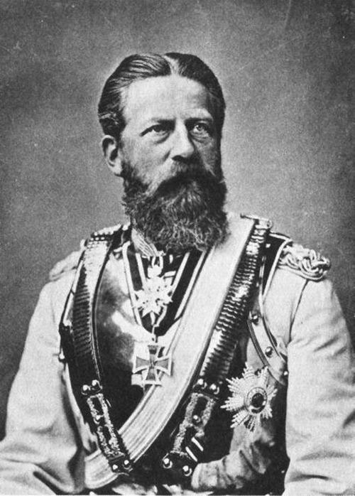 Фридрих III, король Пруссии и германский император.