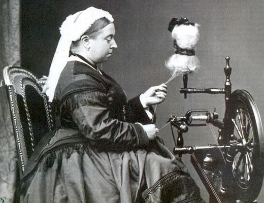 Королева Виктория Гановер-Саксен-Кобург-Готская.