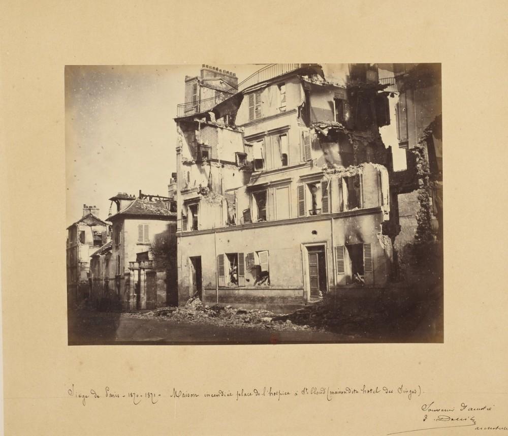 Осада Паржа 1870-1871 гг.