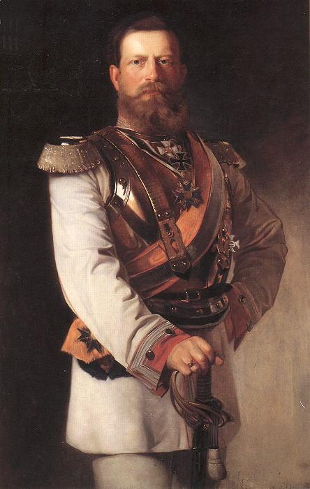 Красный капрал-император Германии Фридрих III Вильгельм Николай Карл