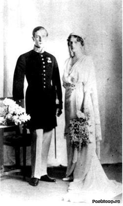Свадьба Ирины Романовой и Феликса Юсупова.
