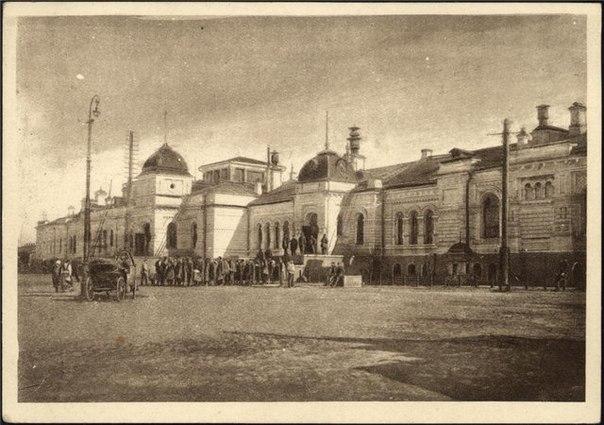 Старый Омский вокзал.