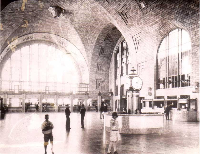 Центральный вокзал Буффало.