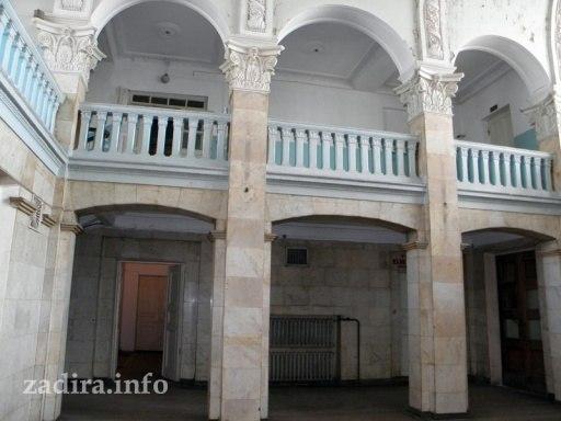 Старый ЖД вокзал в Николаеве.