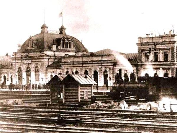 Пенза. Железнодорожный вокзал.