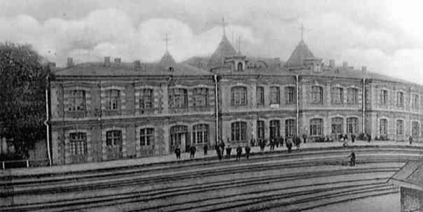 Луганск. ЖД вокзал.