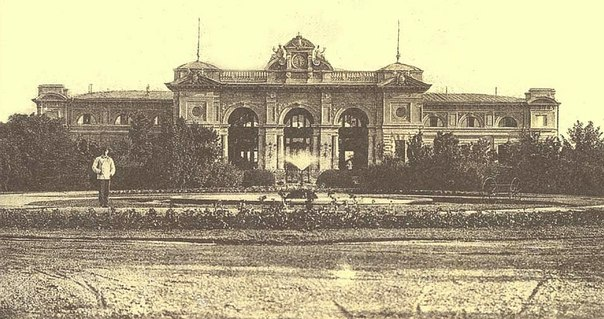 Старая Одесса. Вокзал.