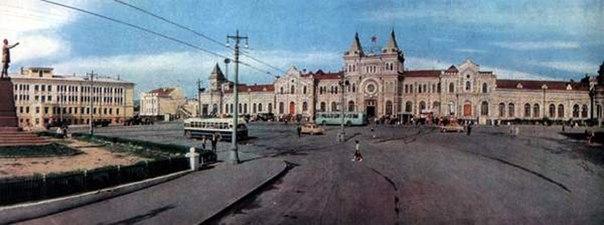 Саратов. Старый ЖД вокзал.