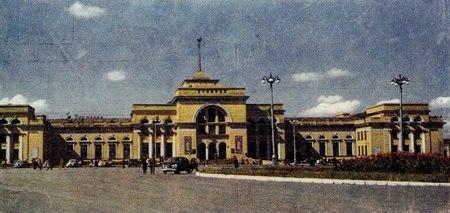 Донецк. Старый ЖД вокзал.
