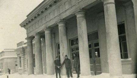 Донецк. Фото старого вокзала.